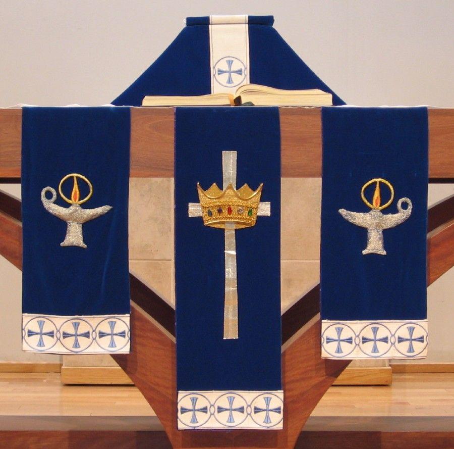 Advent Paramentsaltar Frontals Hobbies Church Paraments
