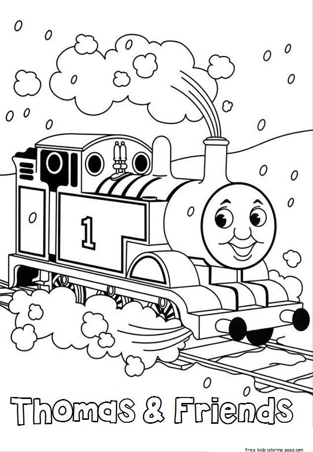 printables thomas train coloring book pages and friends for kids ...