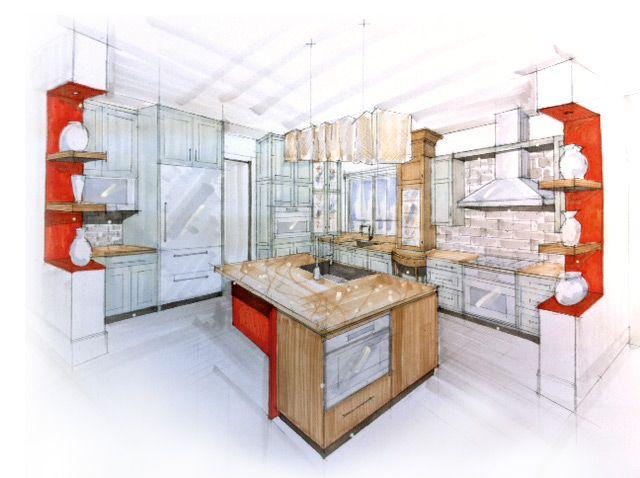 Explore Interior Design Sketches And More!