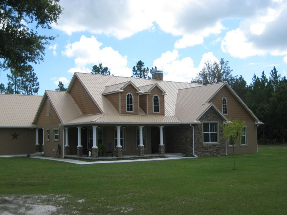 Best Grey Metal Roof Photo Gallery Metal Roofing For 400 x 300