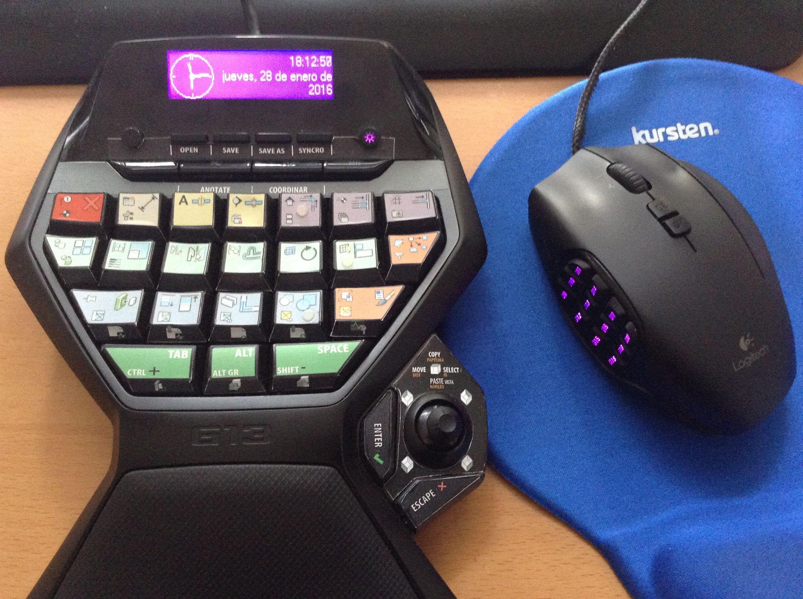 REVIT LOGITECH G13 G600 speedpad | Keyboards in 2019