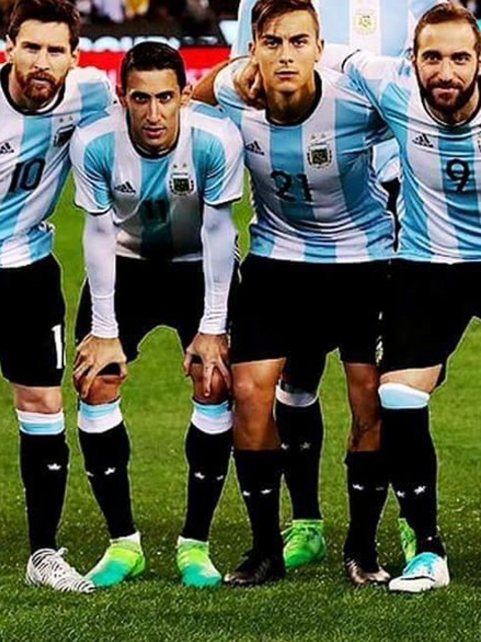 Messi, Di Maria, Dybala & Higuain