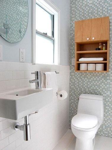 6 Déco WC au top piquées sur Pinterest   Deco wc, Faience et Verre