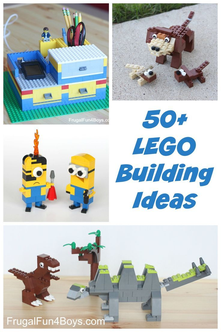 75+ Lego Building Projects for Kids - Frugal Fun For Boys and Girls #furniturebuilding