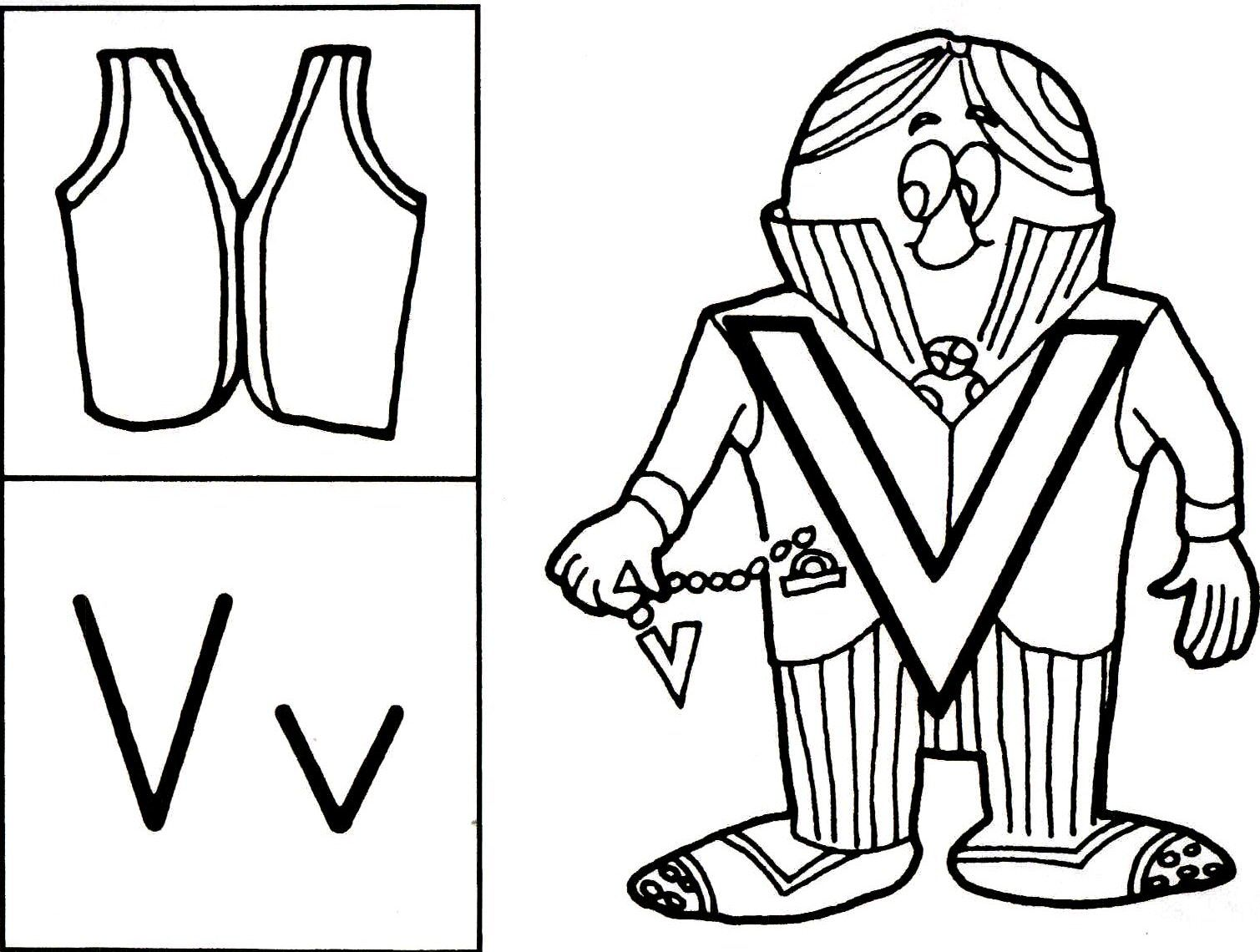 Letter People Coloring Pages Bestofcoloring Com Letter People