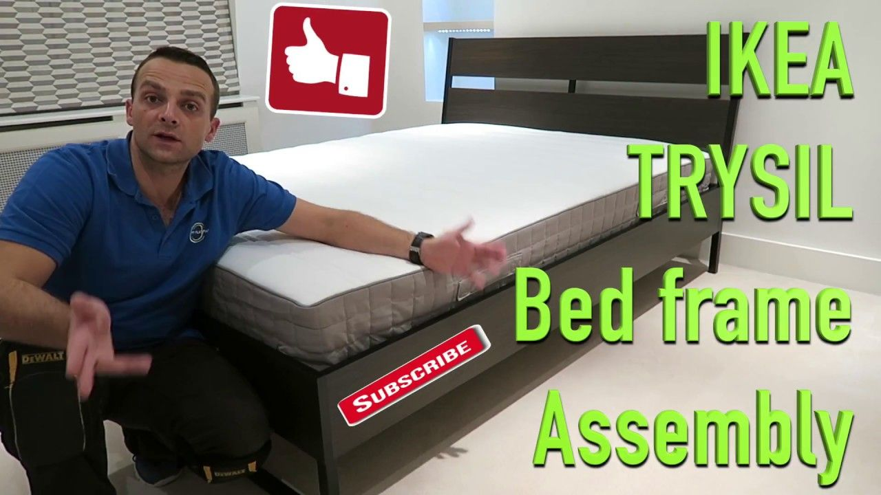 Ikea Trysil Bed Frame Assembly Bed Frame Assembly Trysil Ikea