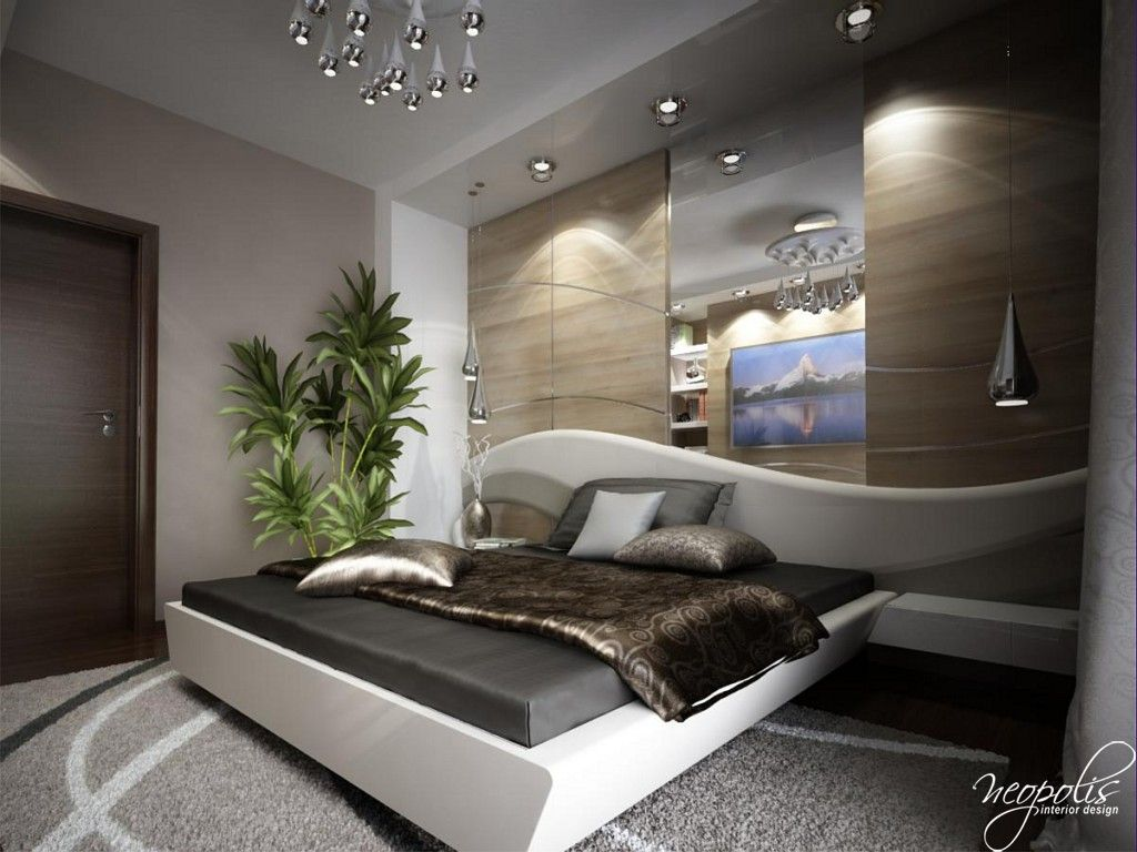 Modern Bedroom Designs by Neopolis Interior Design Studio  Modern