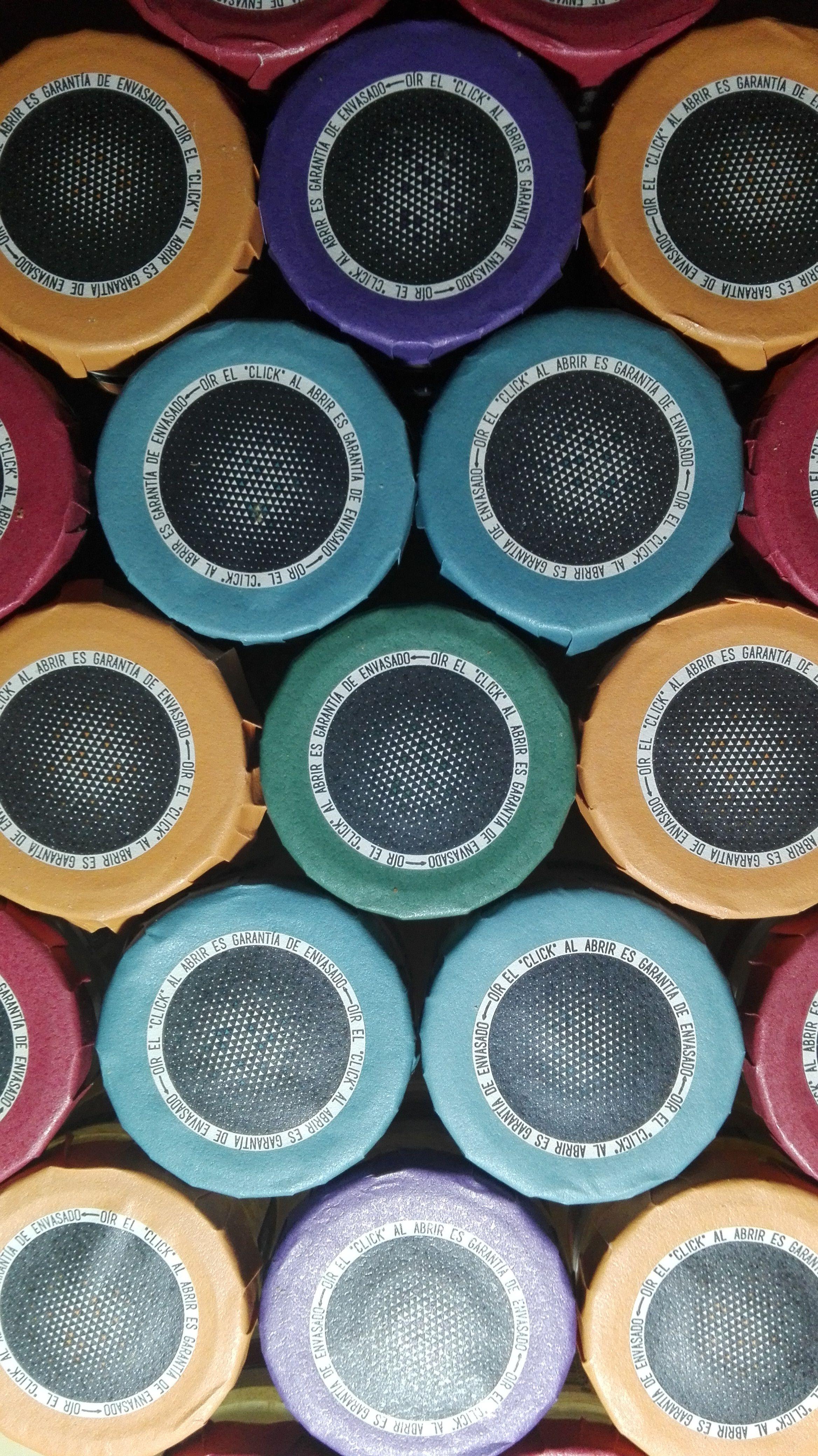 Jars of colors