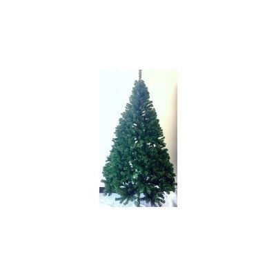 Perfect Holiday Christmas Tree 7Feet PVC Classic Evergreen ** You