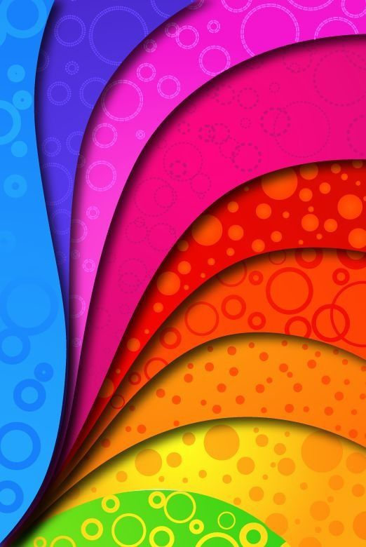 Rainbow Colors Rainbow Colors On Vector Background Free Vector