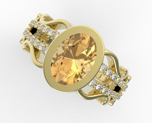Yellow Topaz Rings For Women Bing Images