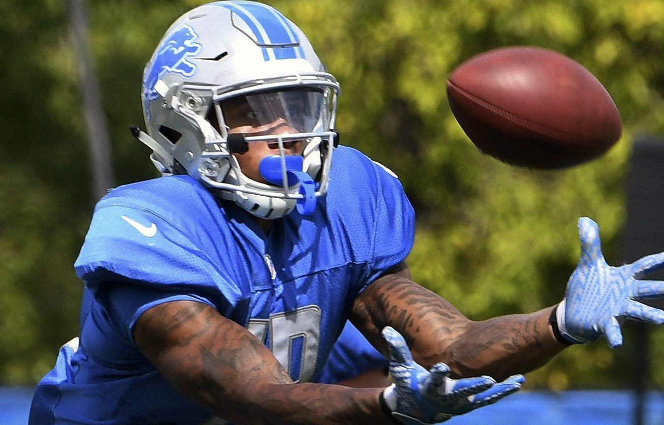 Kenny Golladay earns promotion to first team Lions