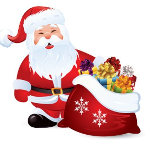 santa claus with bag of presents - Santa Claus With Presents