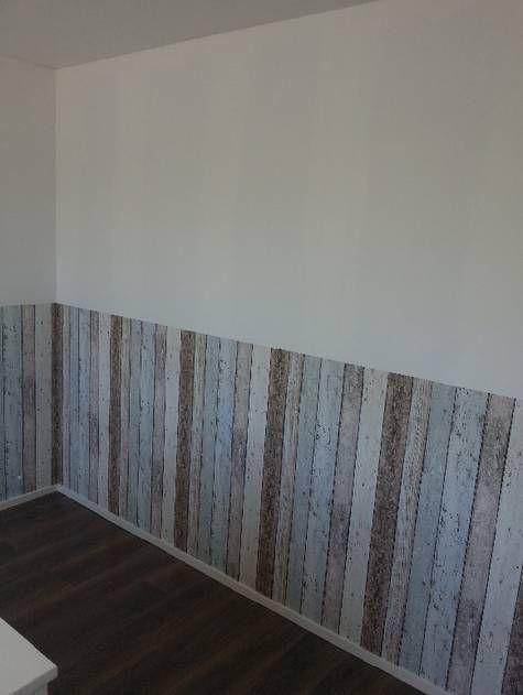steigerhout behang - google zoeken - kamer joep | pinterest, Deco ideeën