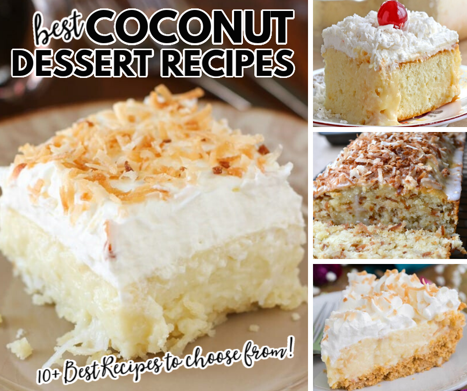 Best Coconut Dessert Recipes