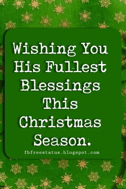 religious christmas card sayings and pictures - Religious Christmas Messages
