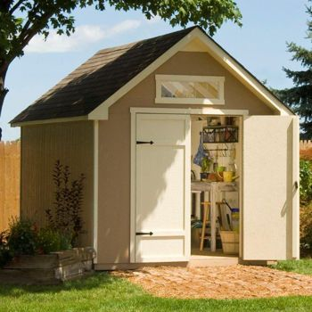 10 High Pitch Still Too Low Yardline Everton 8 Ft X 12 Ft Storage Shed Backyard Storage Sheds Backyard Storage Diy Storage Shed