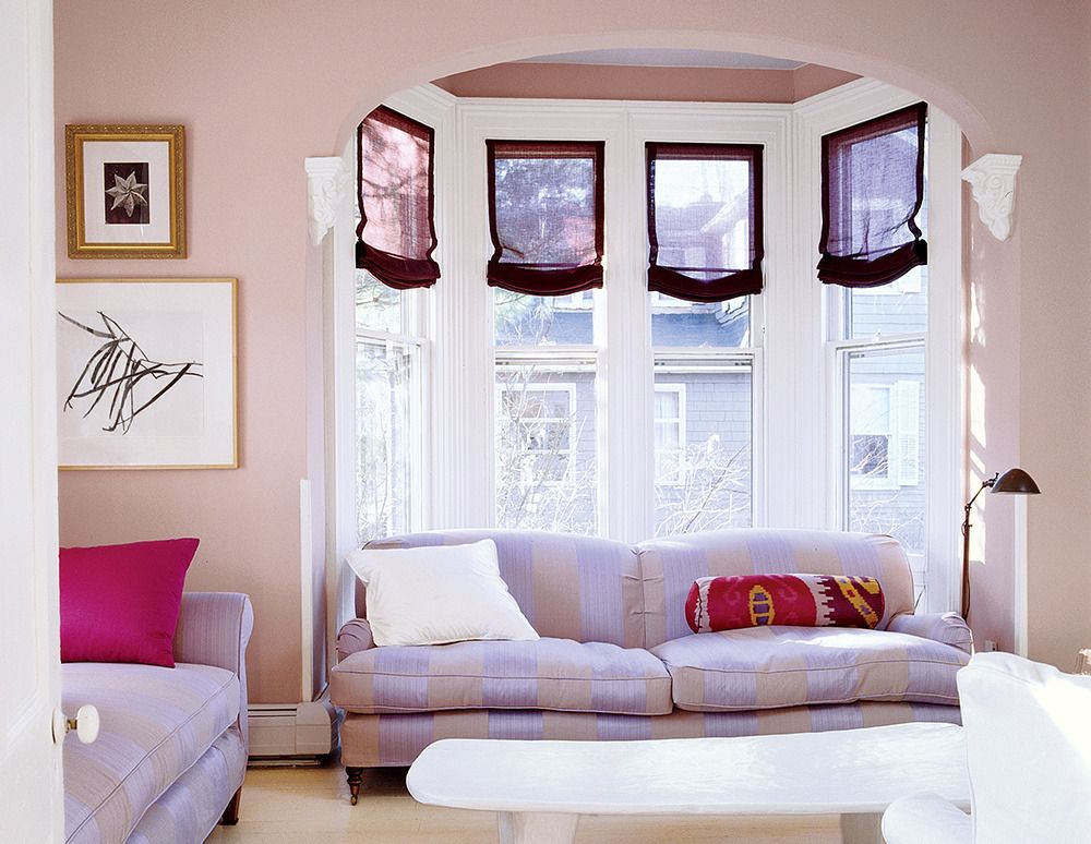 See more images from decorating with pink on domino.com