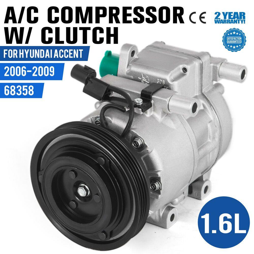 (Sponsored eBay) PRO AC Compressor w/ Clutch fits 2006