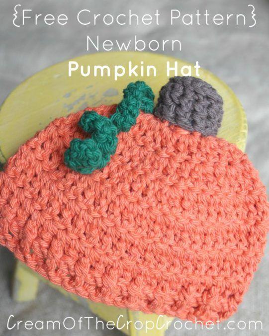 Crochet Pumpkin Hat Free Pattern Choice Image Knitting Patterns