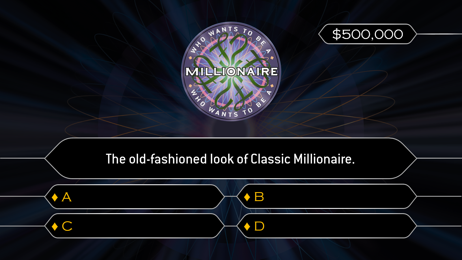 Image result for who wants to be a millionaire template for Who wants to be a millionaire powerpoint template with music
