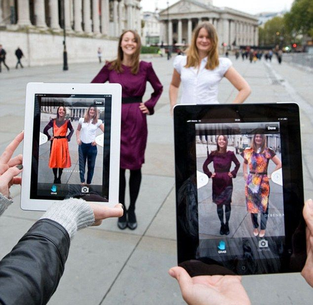 Virtual changing rooms hit the high street: Debenhams first to trial