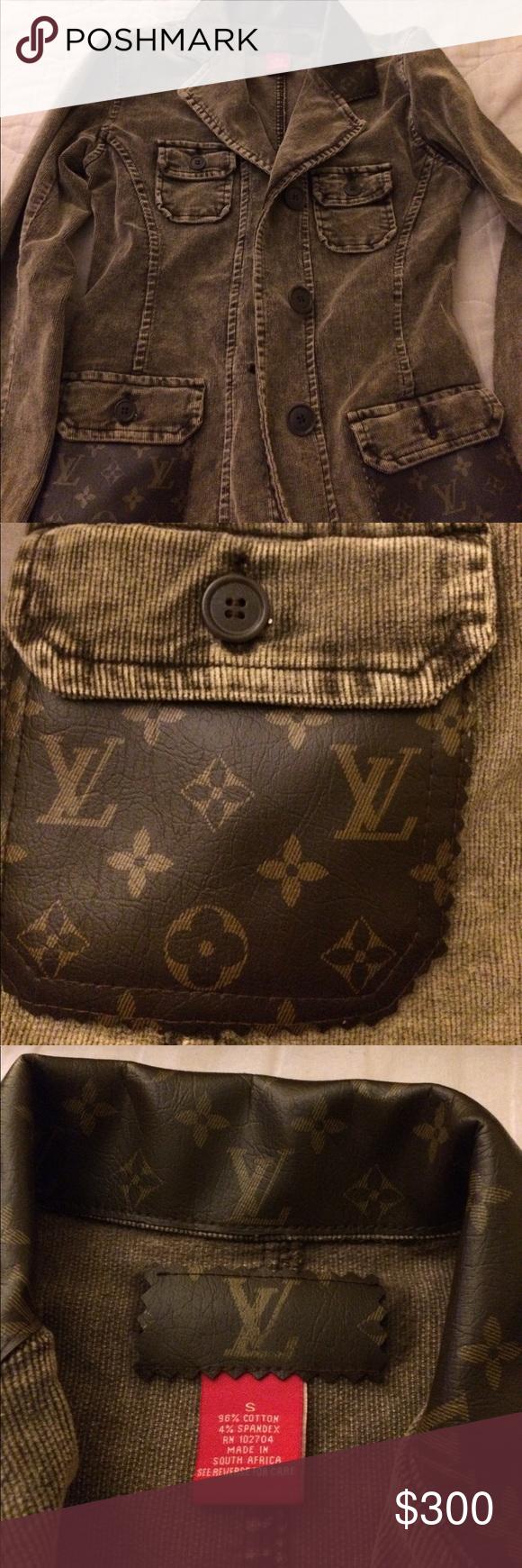 Louis Vuitton jacket Clothes design, Fashion design