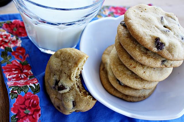 Georgia's Chocolate Chip Cookies, Crispy Chewy Deliciousness