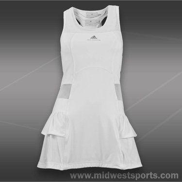 Adidas Stella Mccartney Barricade Dress White Roupas Jogar Tenis Tenis