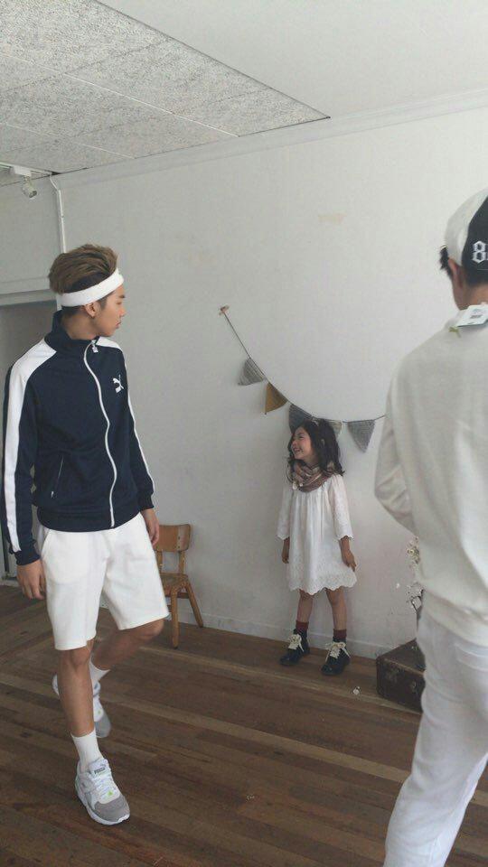 BTS with Kids Model Lee Nam Gyeong
