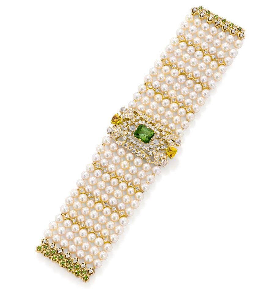 Amazing jewelry neckless pinterest green tourmaline sapphire