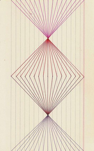 Estructura1 By Elenaguilar On Flickr Geometric Symbols Line Geometry Graph Paper Art,Cool Pumpkin Carving Designs