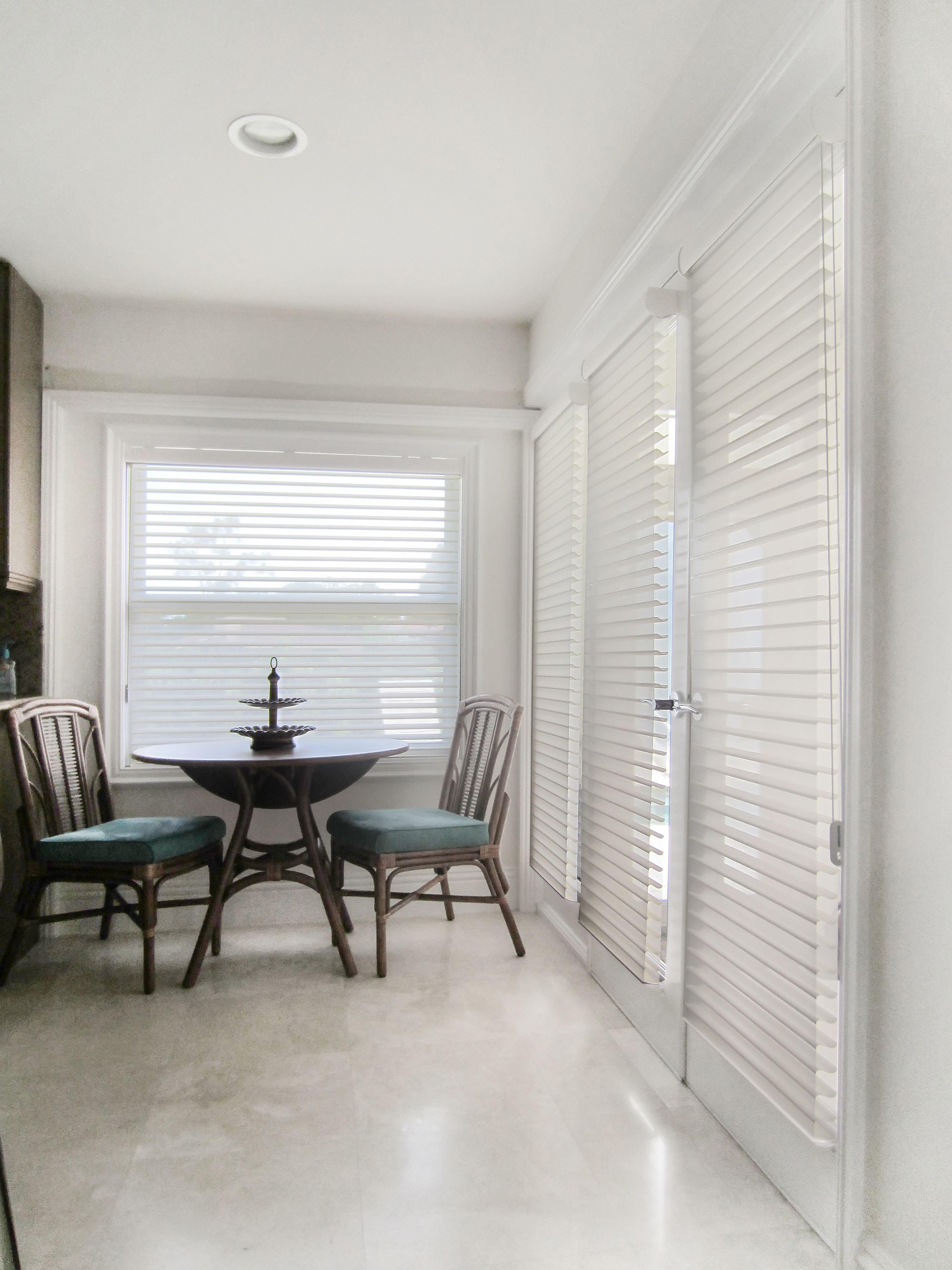Kitchen window treatment ideas  hunter douglas easy rise silhouette shades  kitchen window