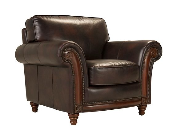 Brookshire Leather Chair Living Room Chairs Raymour And Flanigan Furniture Mattresses Leather Chair Chair Leather Chair Living Room