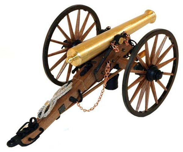 Guns Of History Napoleon Cannon 12-lbr 1:16 Scale | 12