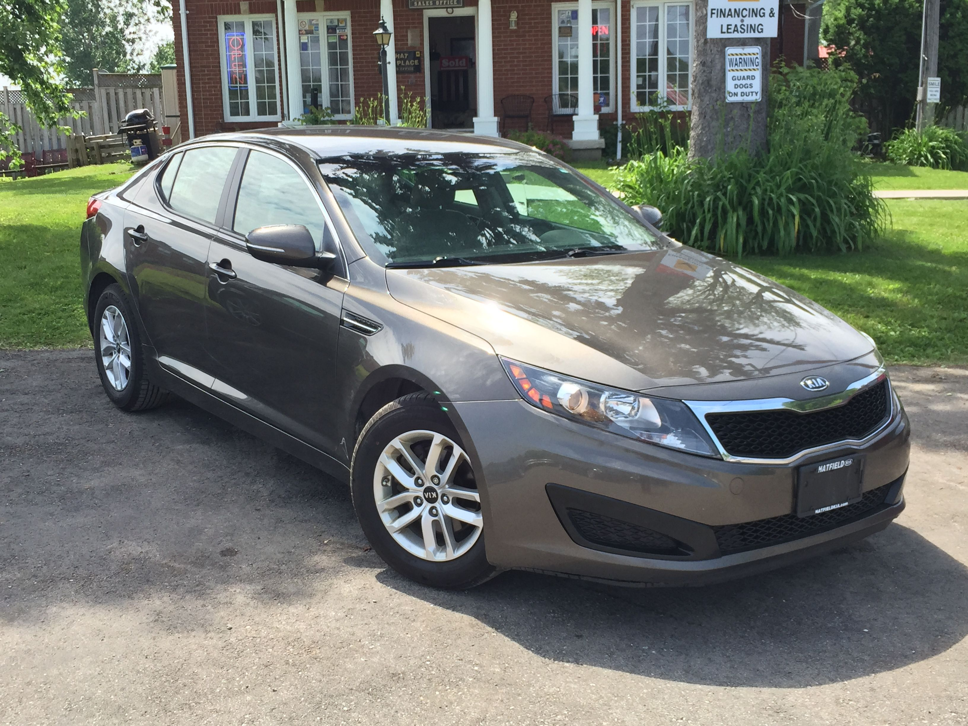 2011 KIA Optima $14 987 Drive this vehicle for 63 weekly based on 72