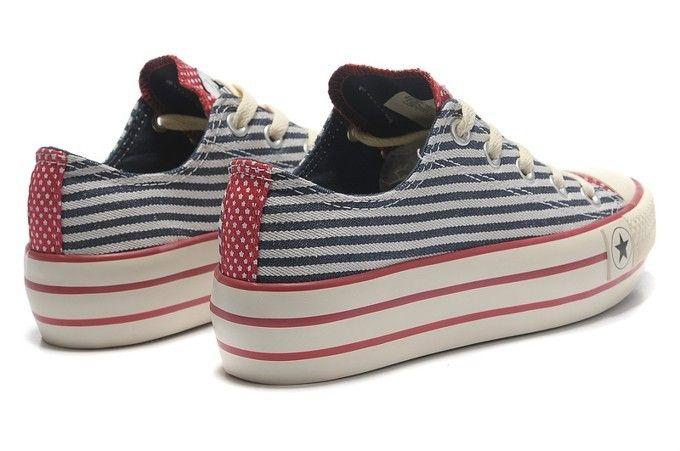 87c5d8db3ab converse wedges all star ox american flag stripe blue trainers ...