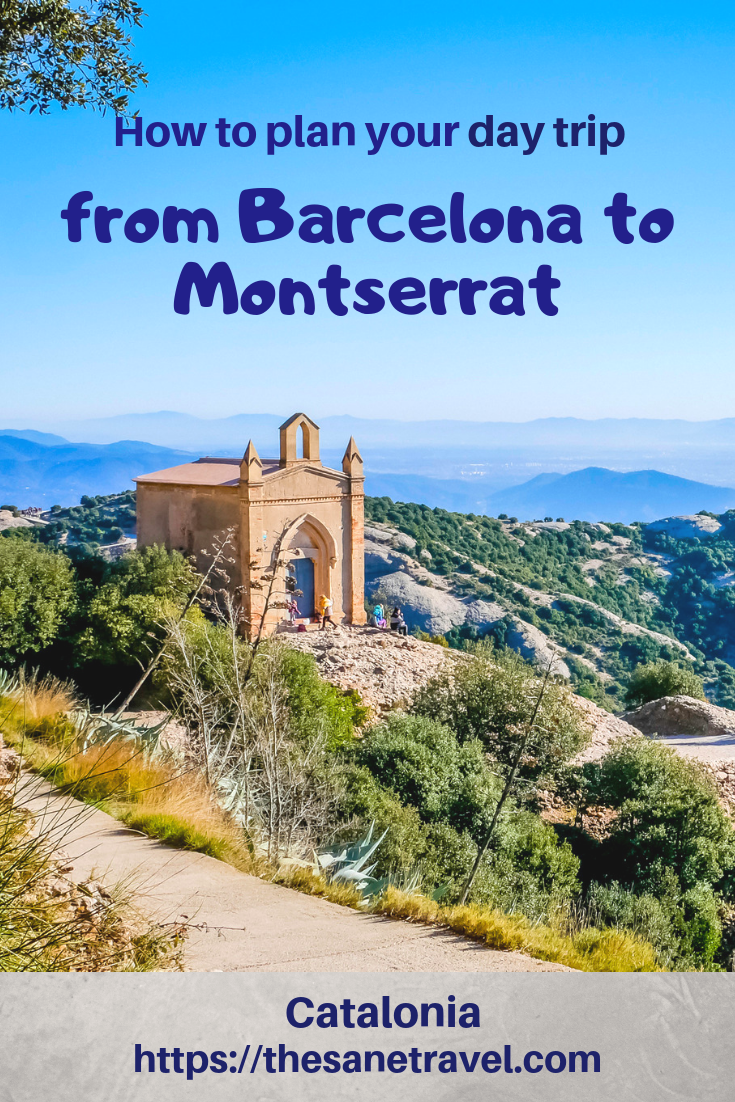 Carte Barcelone Montserrat.How To Plan Your Day Trip From Barcelona To Montserrat In 2019