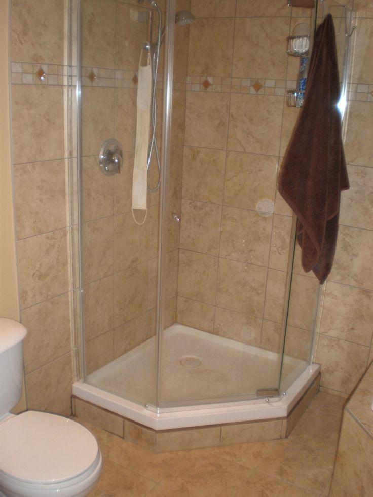 Acrylic Shower Pan Tile Walls Home Pinterest Shower Pan