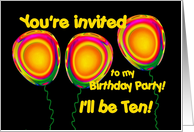 10 year old birthday invitations my birthday pinterest birthdays 10 year old birthday invitations stopboris Image collections