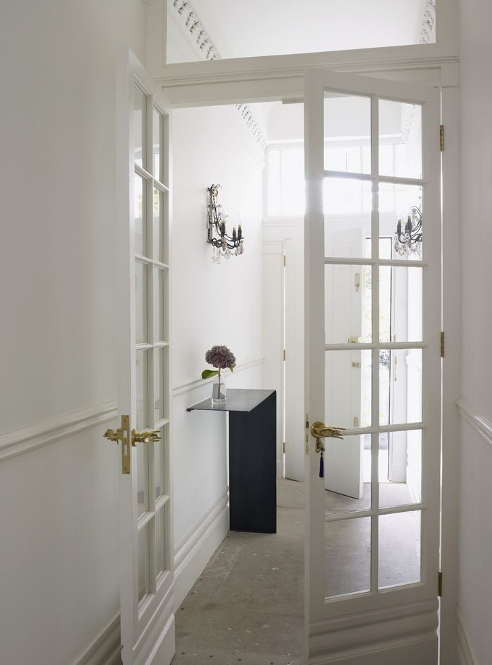 Another Strong Case For White Interior Doors Via Greige Interior