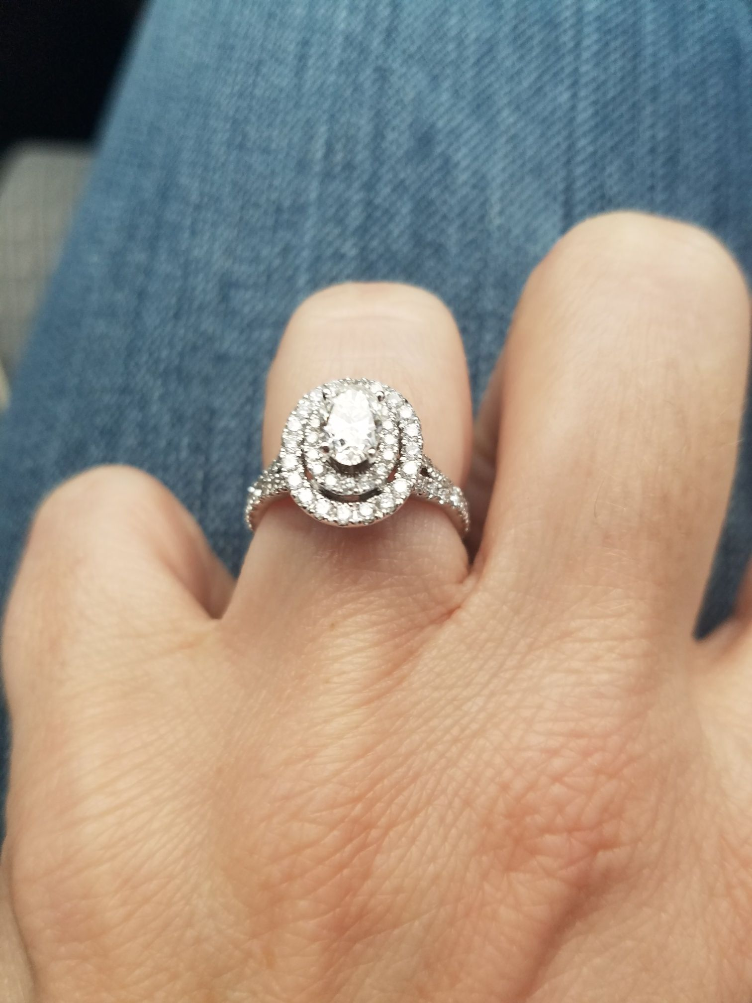 pin by adam stephenson on neil lane oval engagement ring