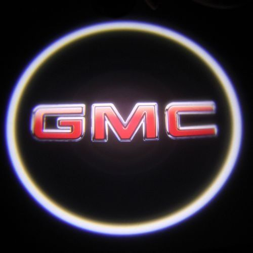 Car Led Door Logo Badge Light Ghost Shadow Light Led Car Decoration For Gmc Automotive Ghost Lights Gmc Logos