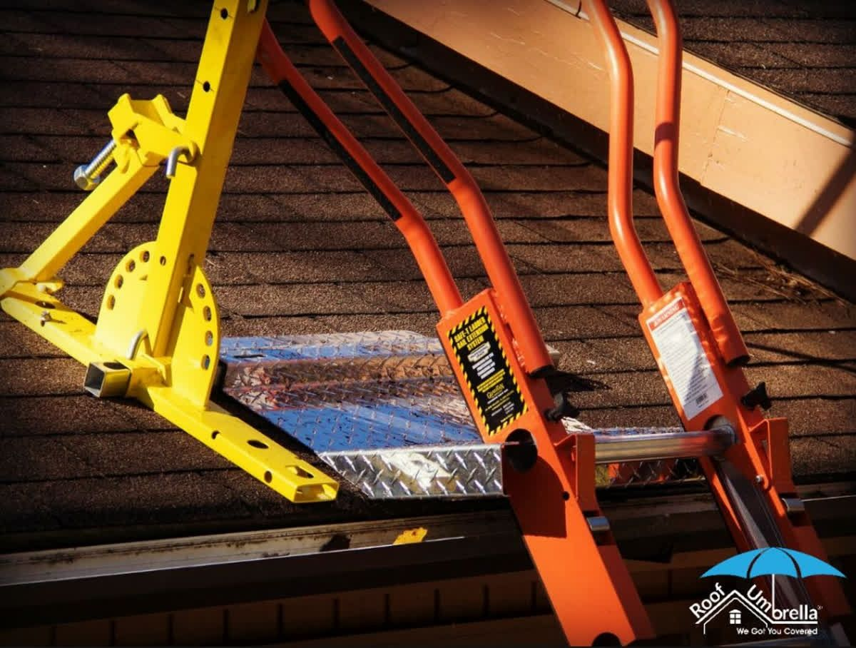 Protect your gutters and make roof access safer and OSHA