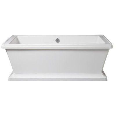 porcher lutezia freestanding bathtub contemporary bathtubshouzz