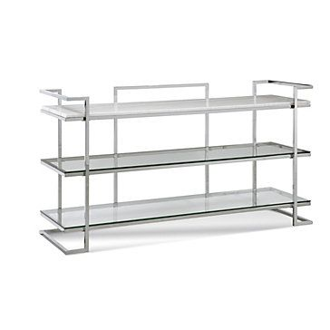 Vincente 3 Shelf Console Table In 2019 Mindy S Home