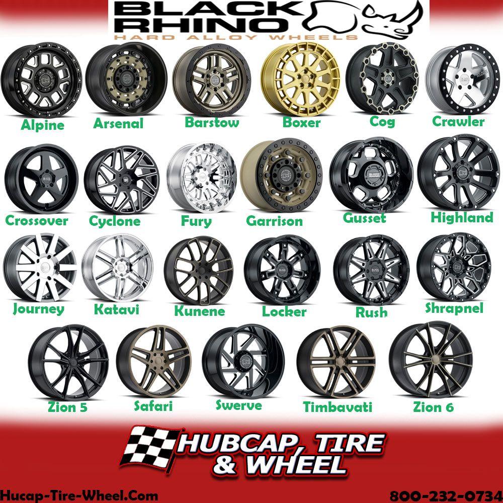 Black Rhino Wheels and Rims