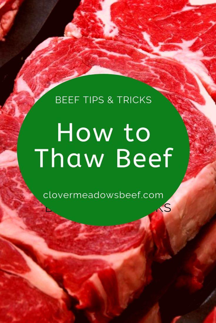Defrosting meat 4 easy safe ways steak recipes