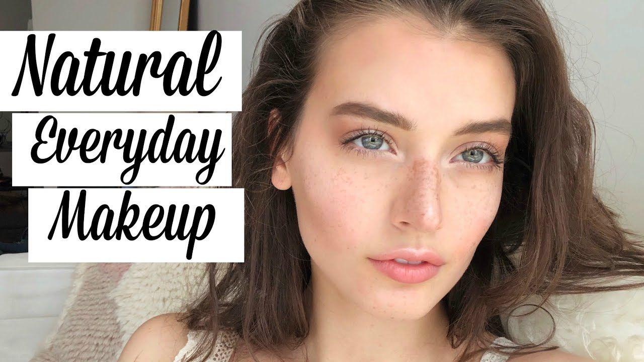 Natural Everyday Makeup Spring Tutorial YouTube