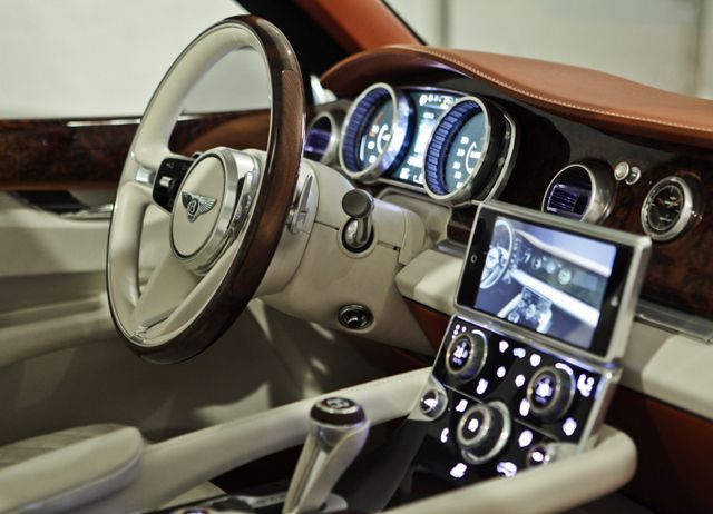 Bentley EXP 9F SUV interior Dashboards Pinterest Vehicle and Cars
